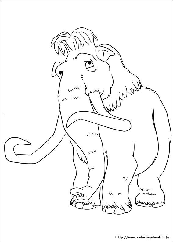 colouring pages ice age 4 only coloring pages pinterest