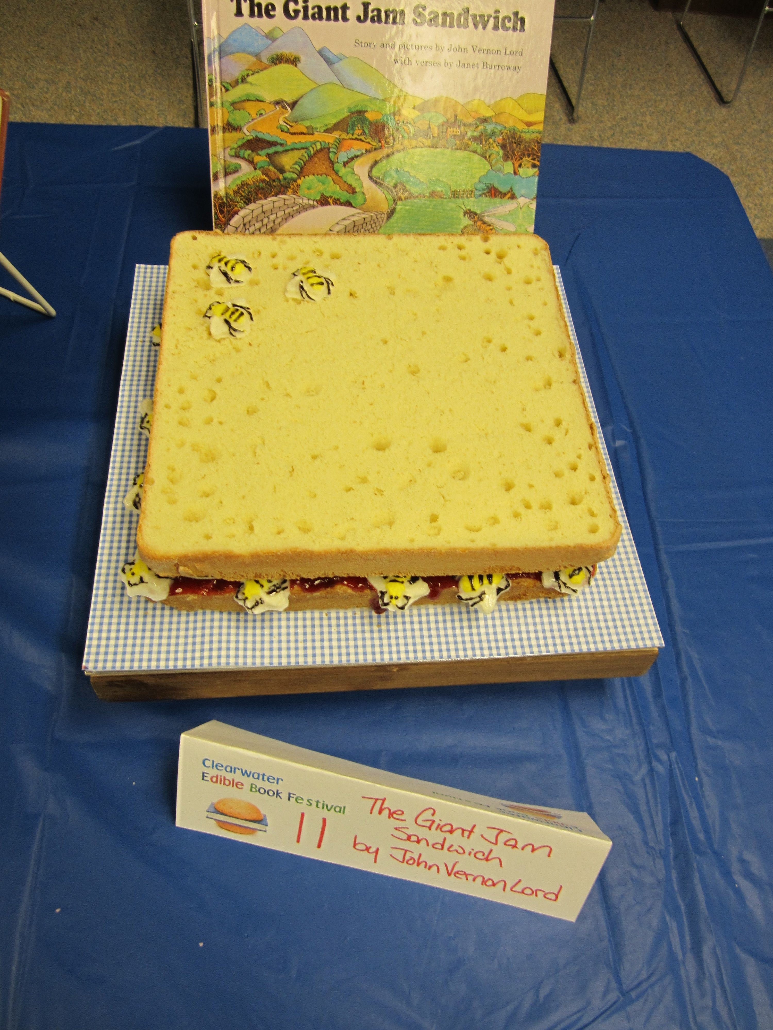 The Giant Jam Sandwich, Clearwater Edible Book Festival