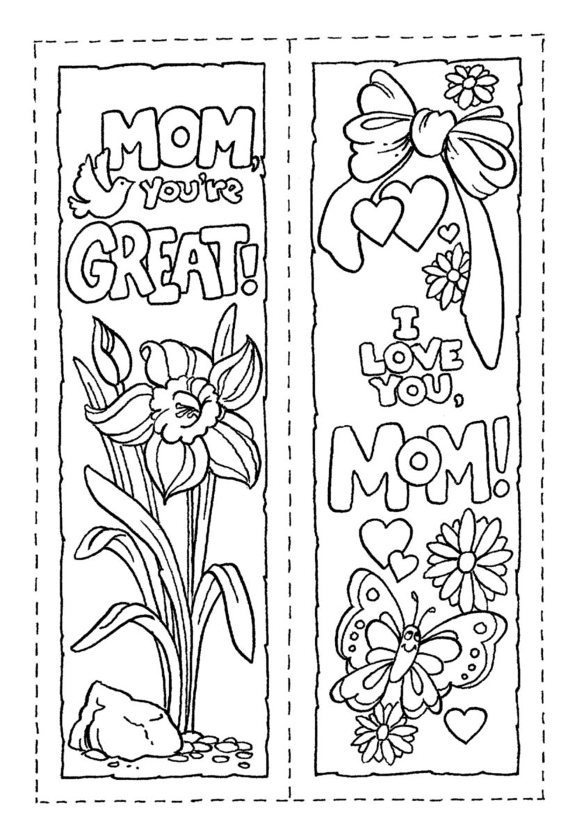 bookmark (mother's day)  holiday church ideas  pinterest