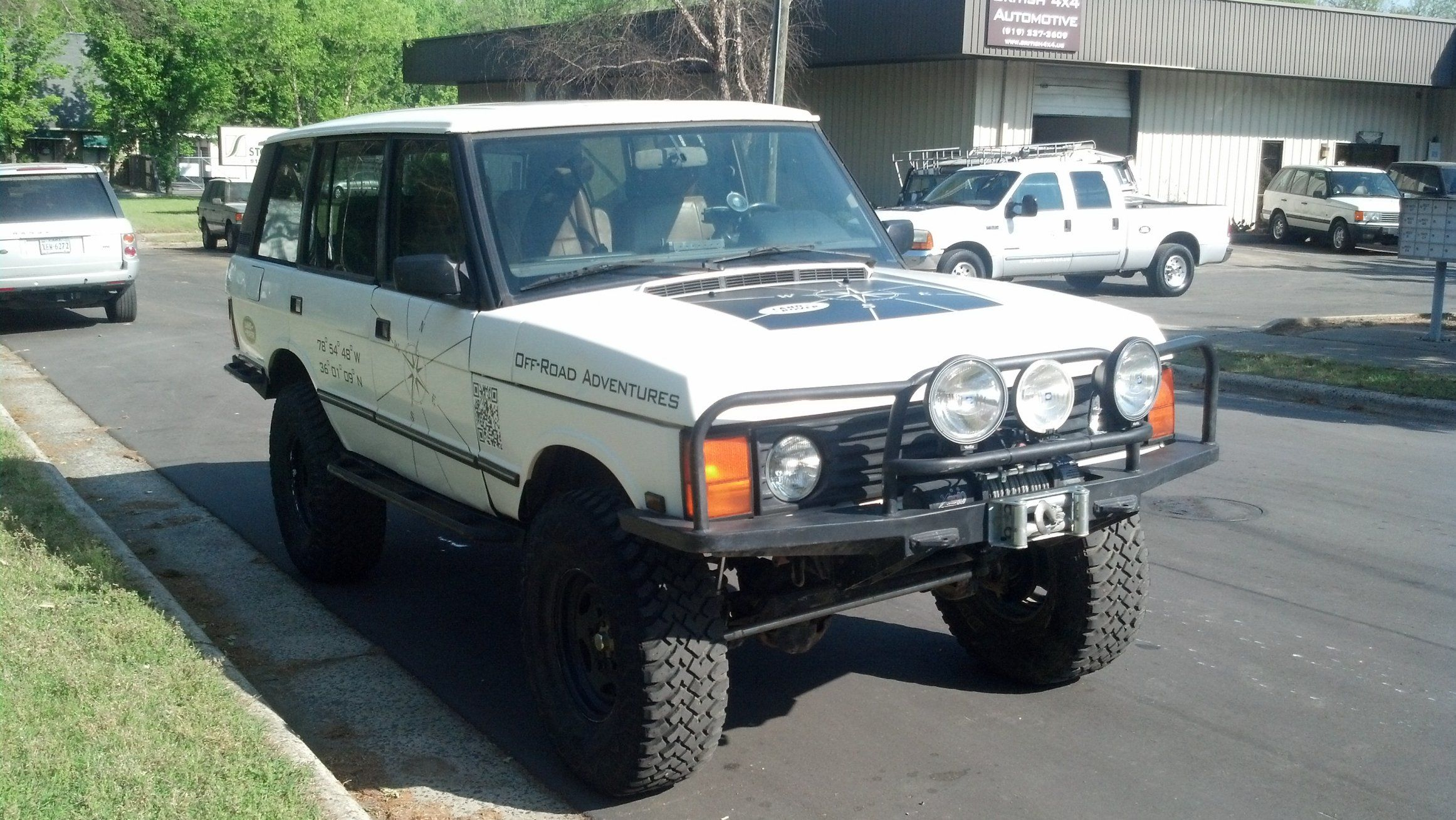 lifted land rover for sale Google Search
