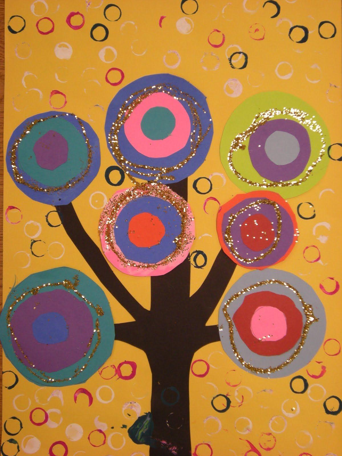 What S Happening In The Art Room Kandinsky Trees 1st