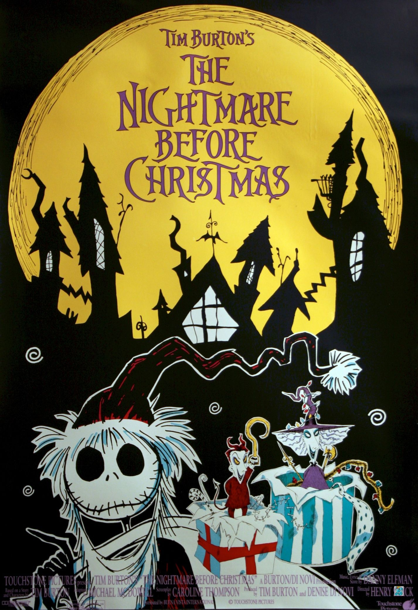 nightmare before christmas ) Animation Movies