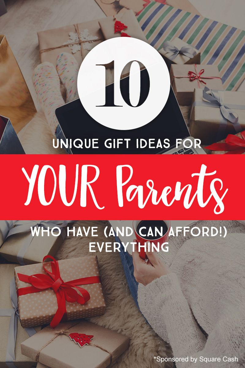 10 Gift Ideas for *YOUR* Parents (Who Have Everything