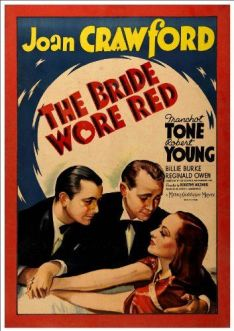 Image result for joan crawford in the bride wore red