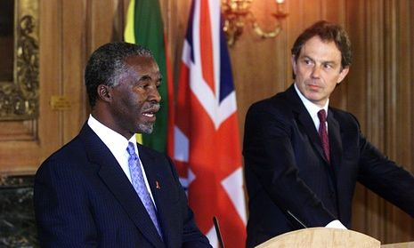 Image result for tony blair and mbeki