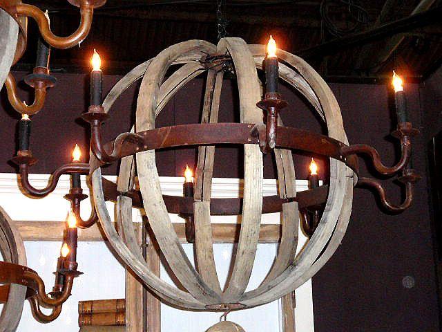 Wood Chandelier Chandeliers Antique Wooden Rustic Country
