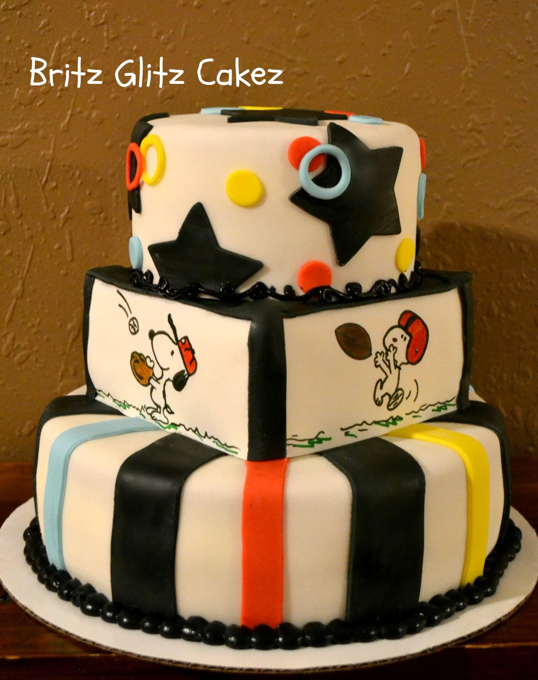 Snoopy Cake I Made