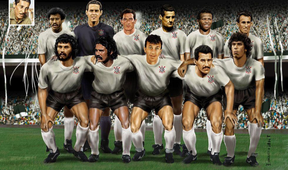 "Sport Club Corinthians Paulista ""The Dream Team"" Time"