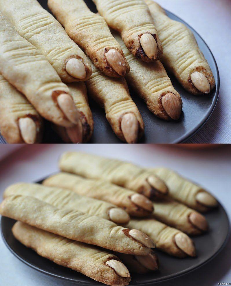 Witch's finger cookies Food Pinterest Halloween