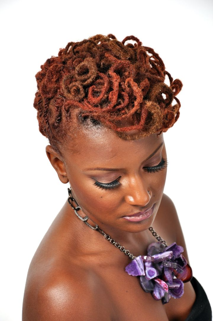 Hair Inspirations 13 Funky Loc Styles To Rock