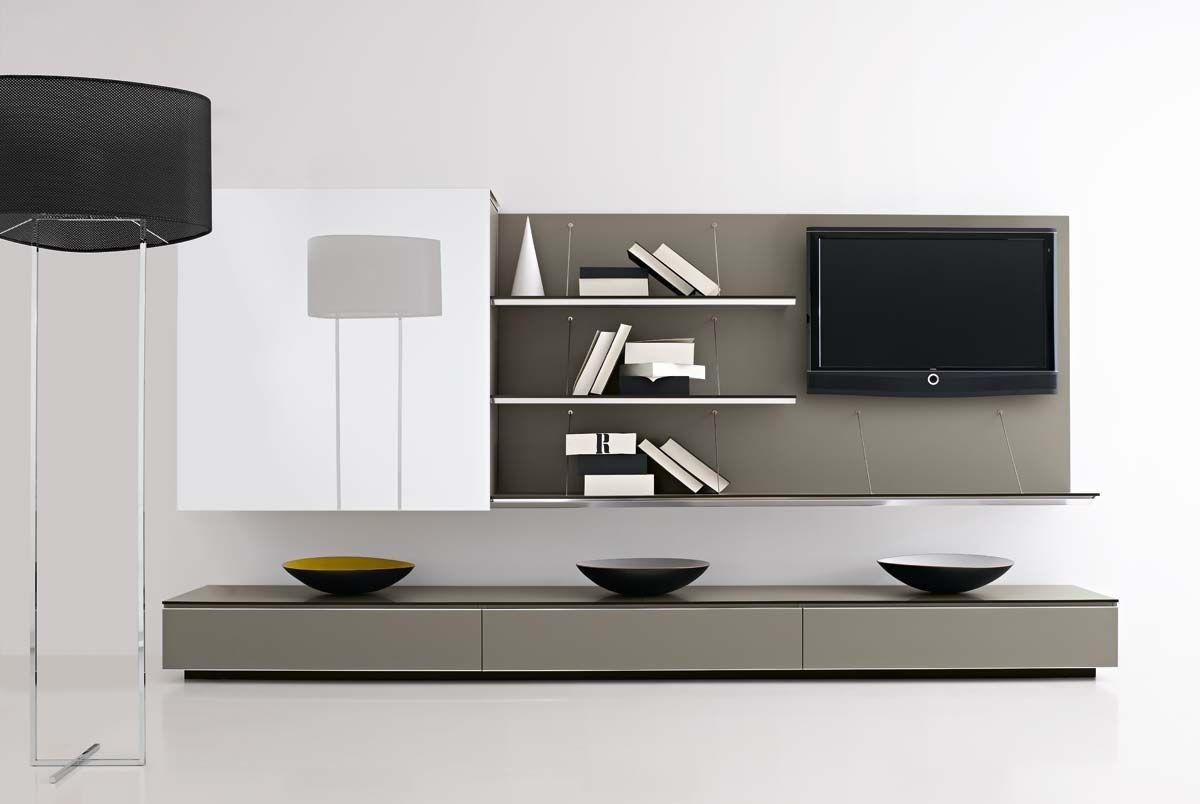 Contemporary Tv Unit Designs Awesome Decoration On Home