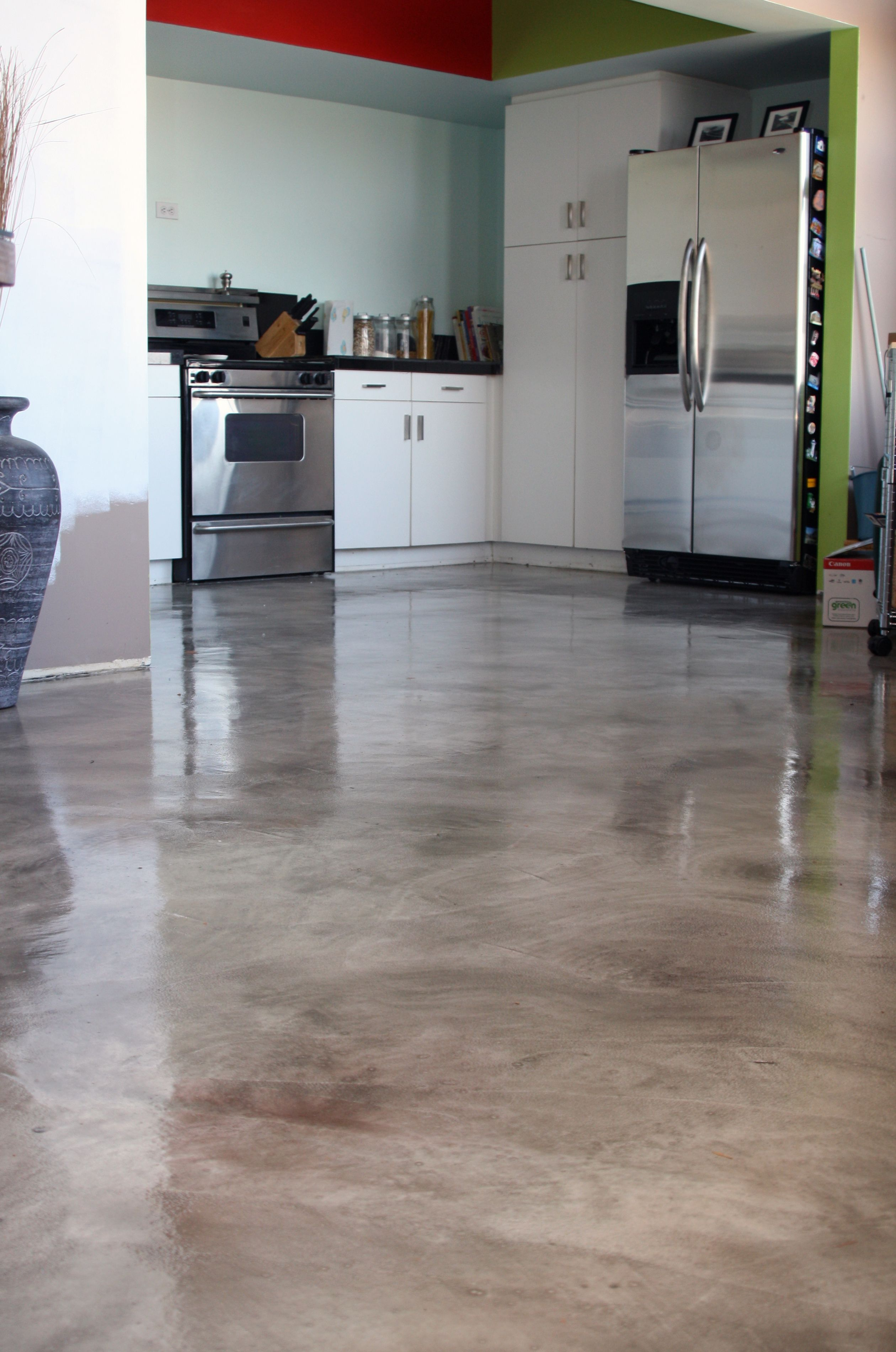 Concrete Kitchen Floor Paint