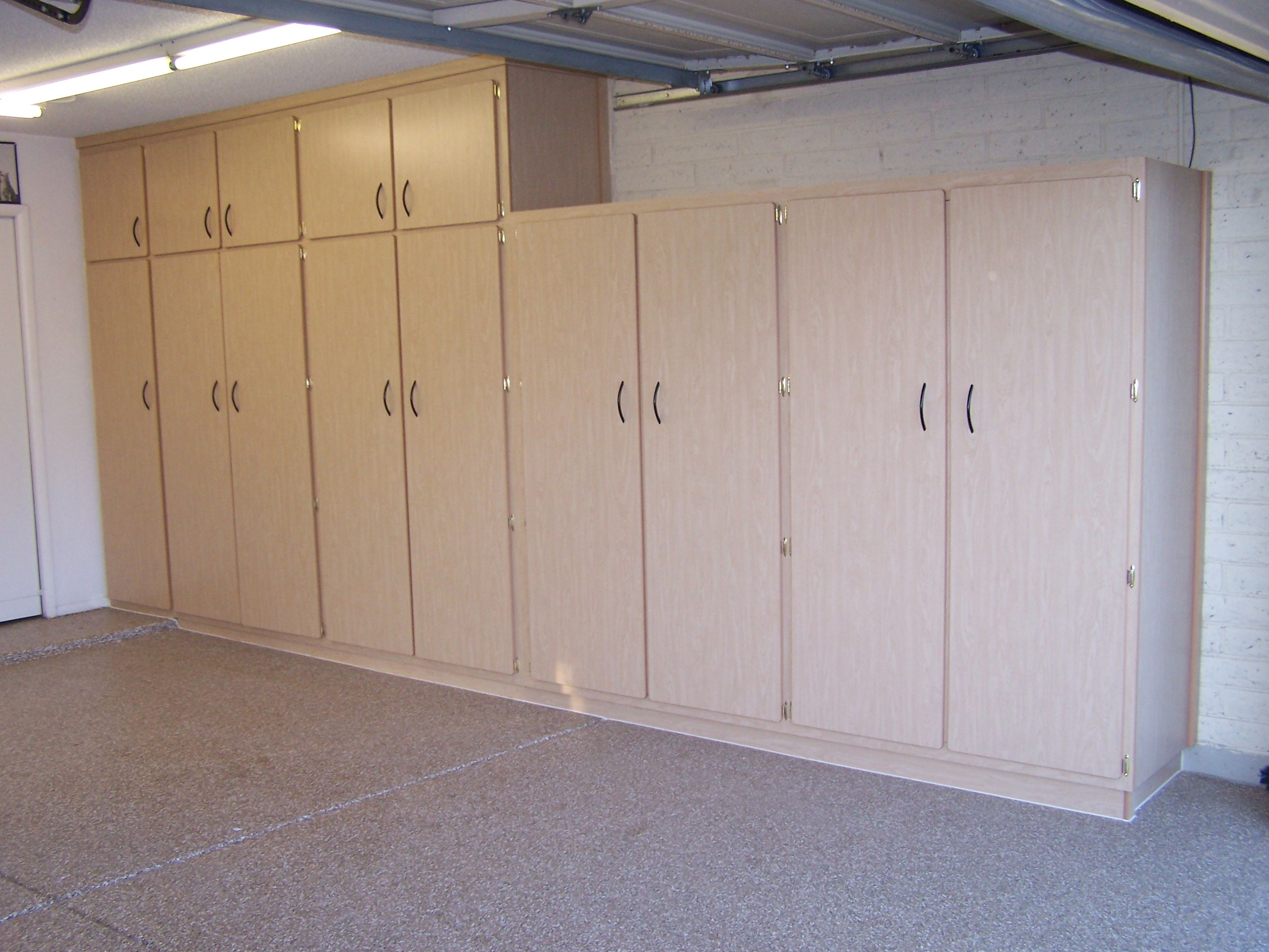 garage storage with doors Garage makeover