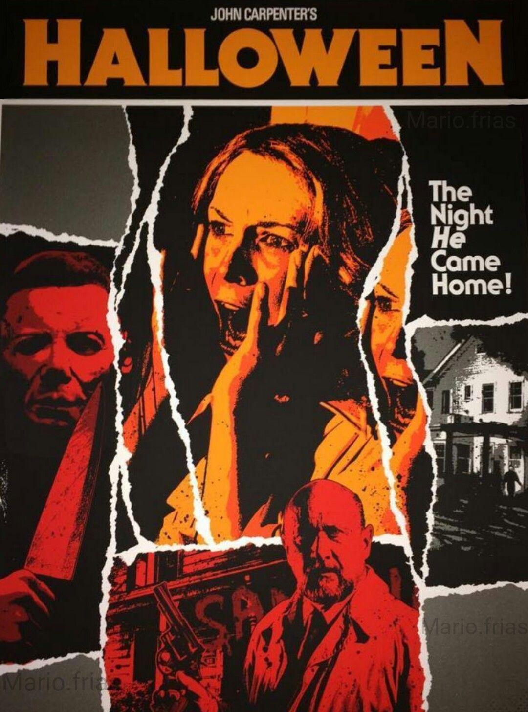 Halloween John Carpenter Horror Movie Slasher y horror