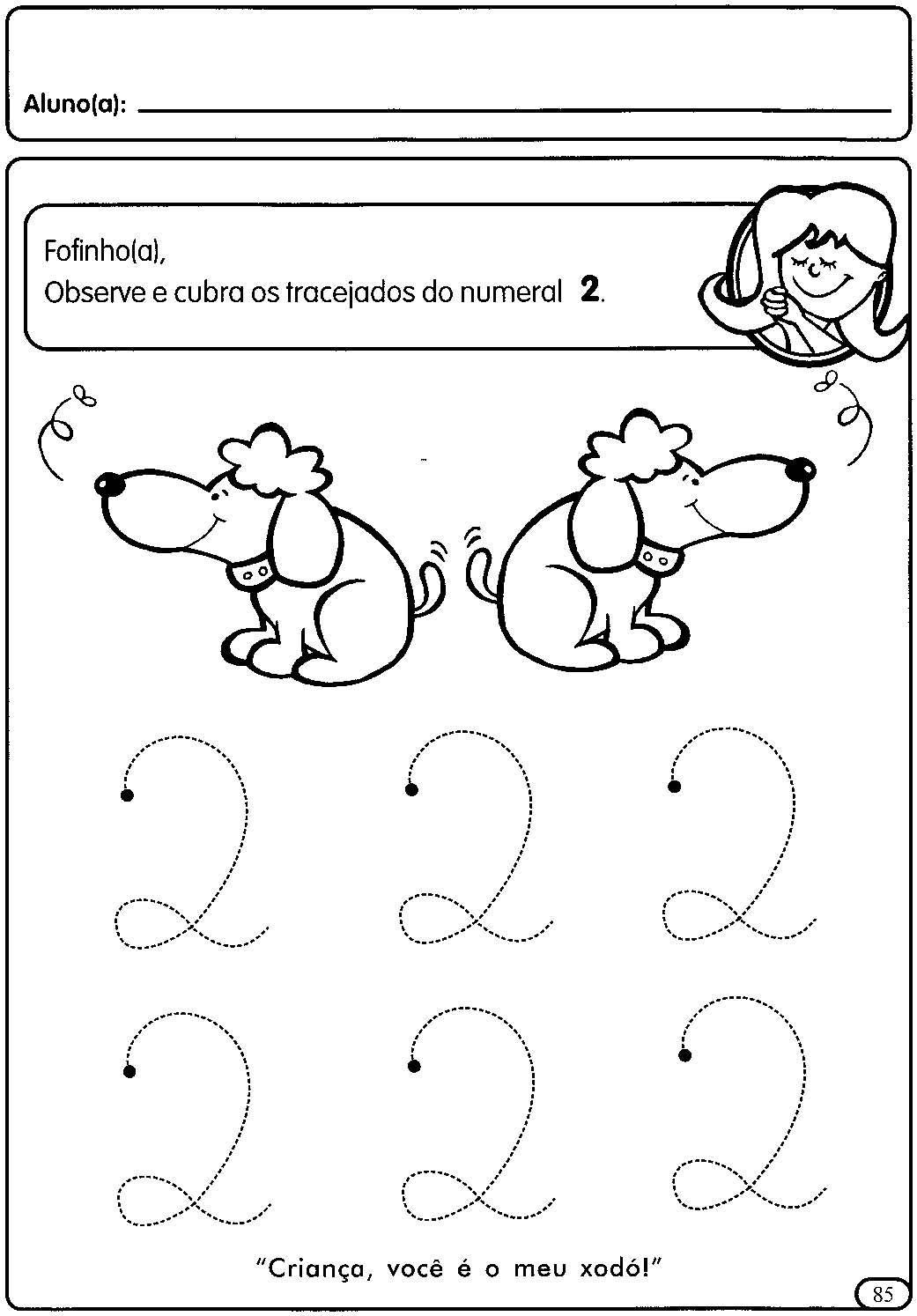 Atividades Com Numerais De 1 A 5 Para A Educacao Infantil