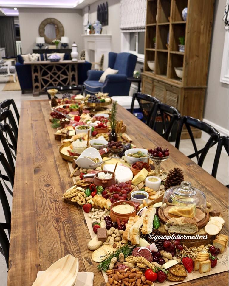 Long Table Platter Nibbles Amp Entre Pinterest Long