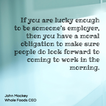 john mackey whole foods ceo If you are lucky enough to