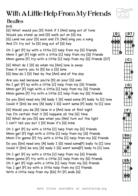 PDF thumbnail should appear here Ukulele Songs