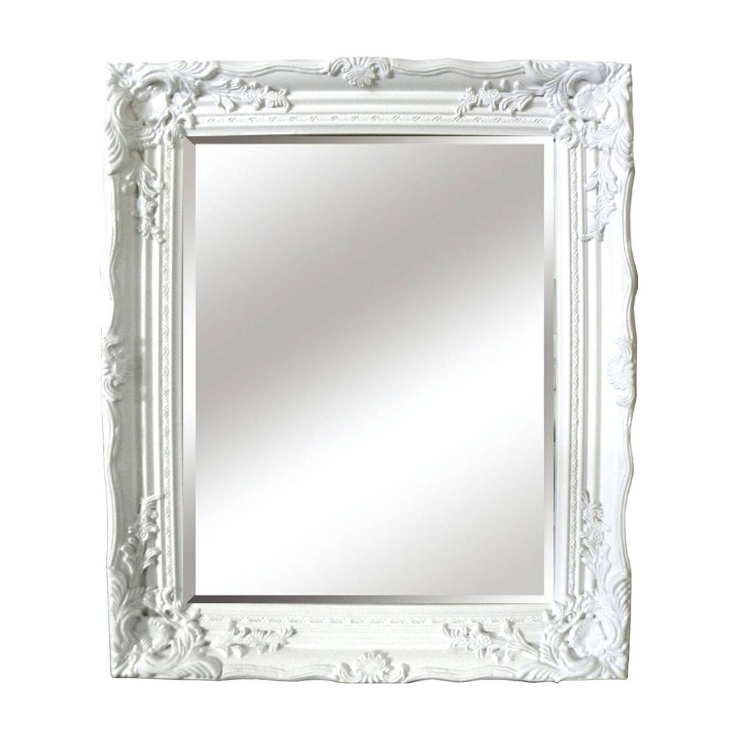 Buy Antique White Ornate Mirror Mirrors The Range