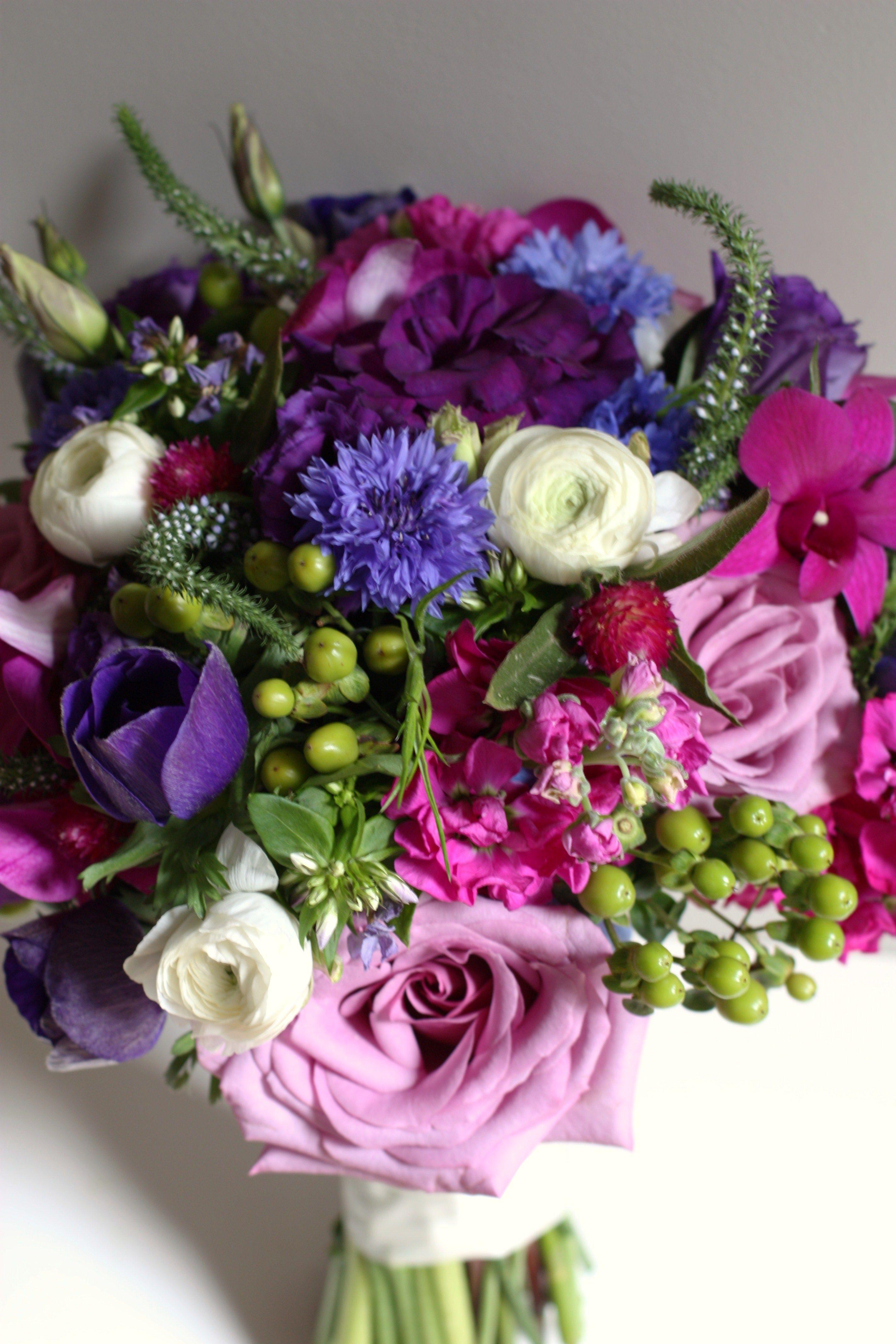 bouquet jewel toned bridal bouquet