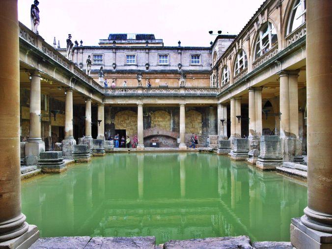 Image result for roman bath england