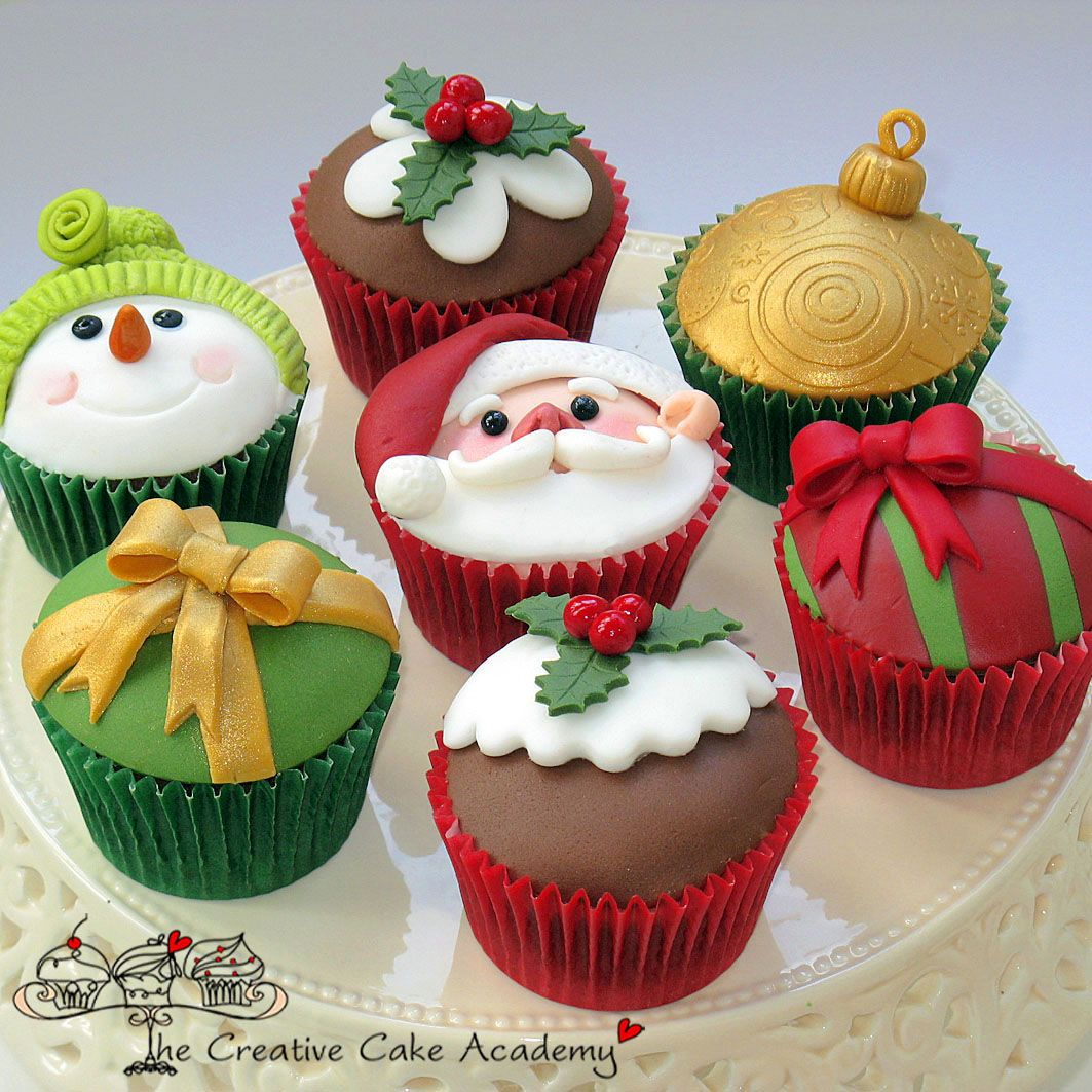 The Creative Cake Academy Christmas Pinterest