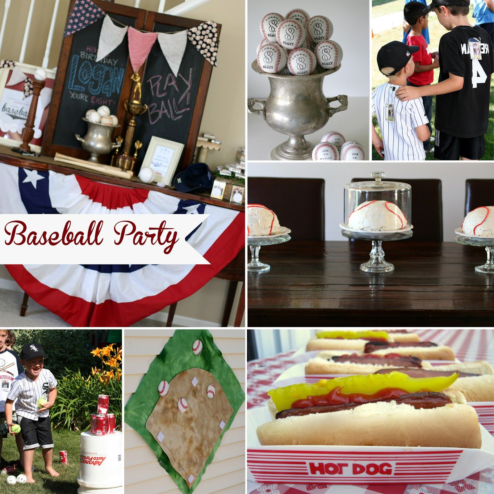 Baseball Birthday Party For 8 Year Old Boys