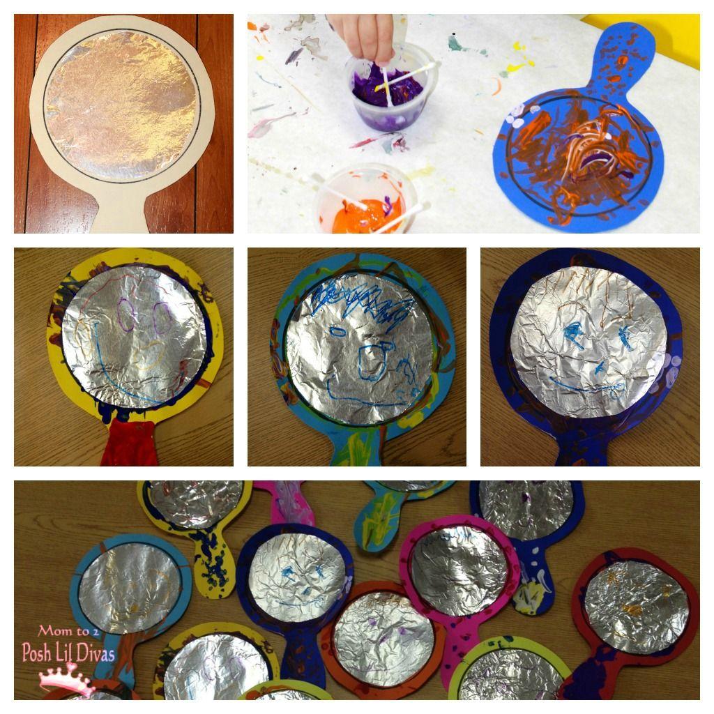 Marvelous Me Foil Art Mirror Craft