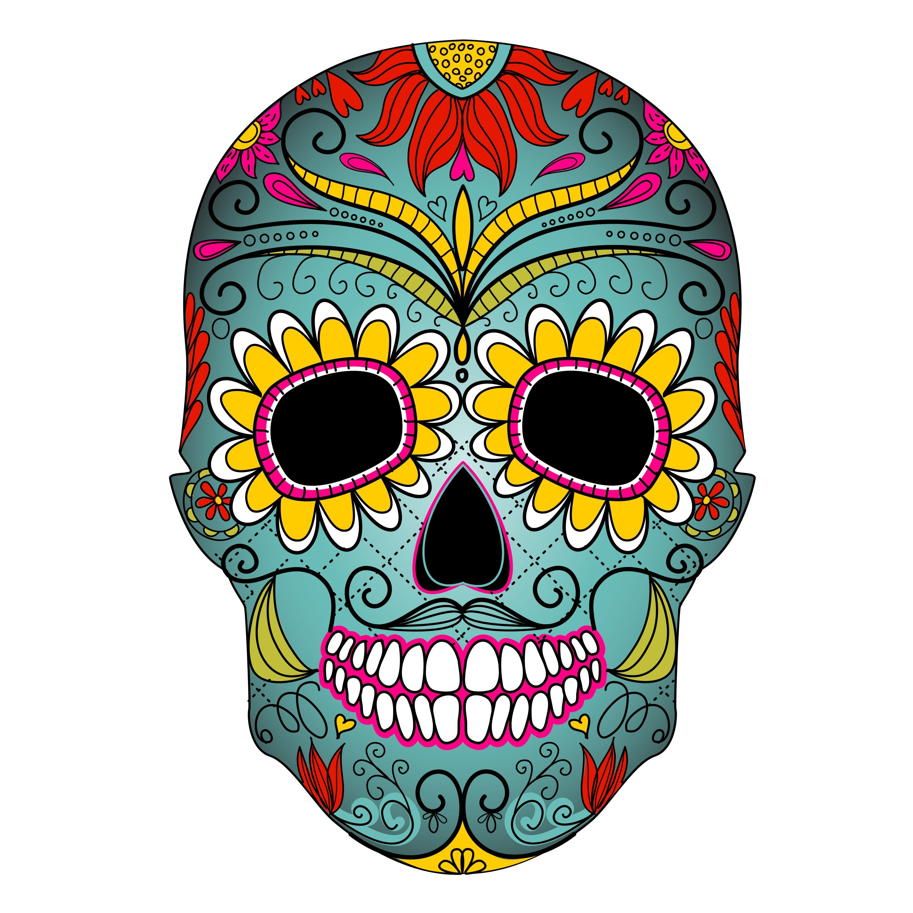Day Of The Dead Clipart Clipart Kid Day of the Dead