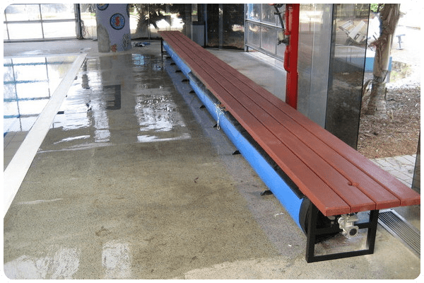 Dolor cover reel bench Yard/Garden/Pool/Patio