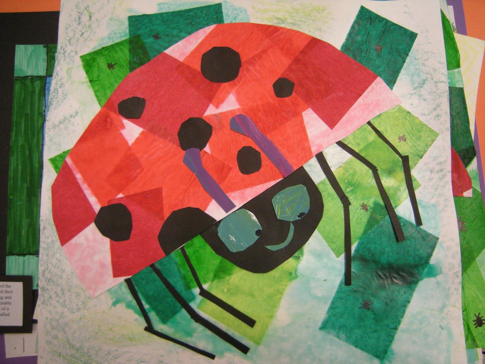 Spring Art Lesson For First Grade