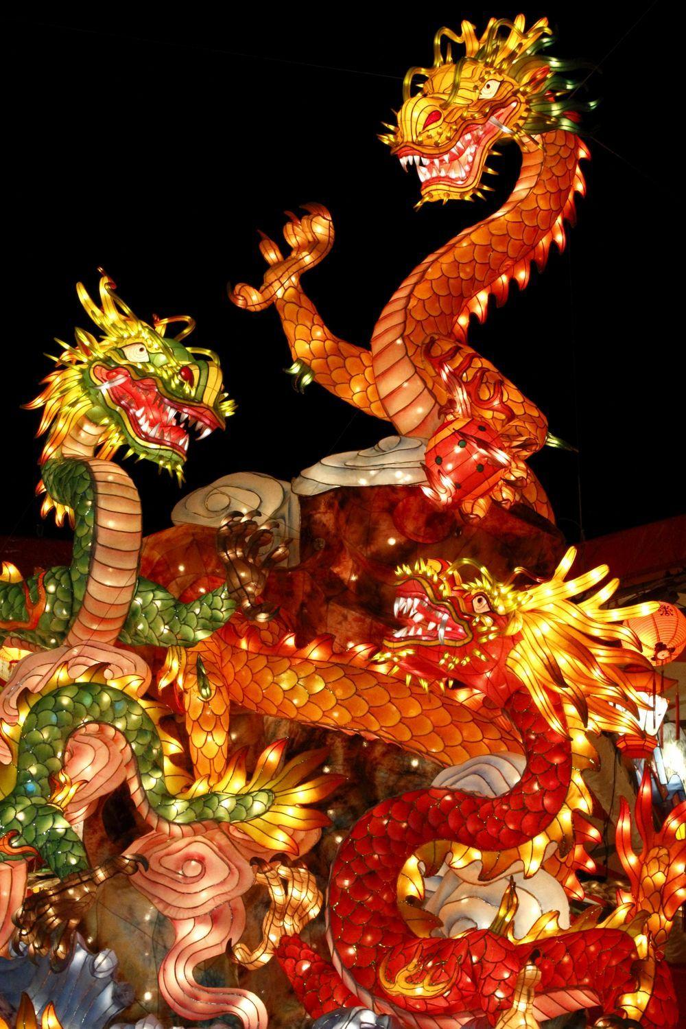 Nagasaki Lantern Festival, Japan Japanese ☆ Culture