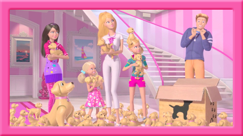 Image result for Too Many Puppies! Barbie Life in the dreamhouse