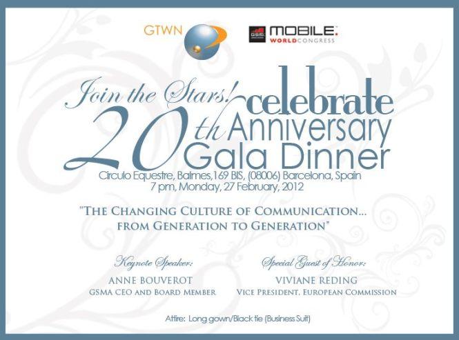 Business Anniversary Invitation Wording Samples – Gala Invitation Wording