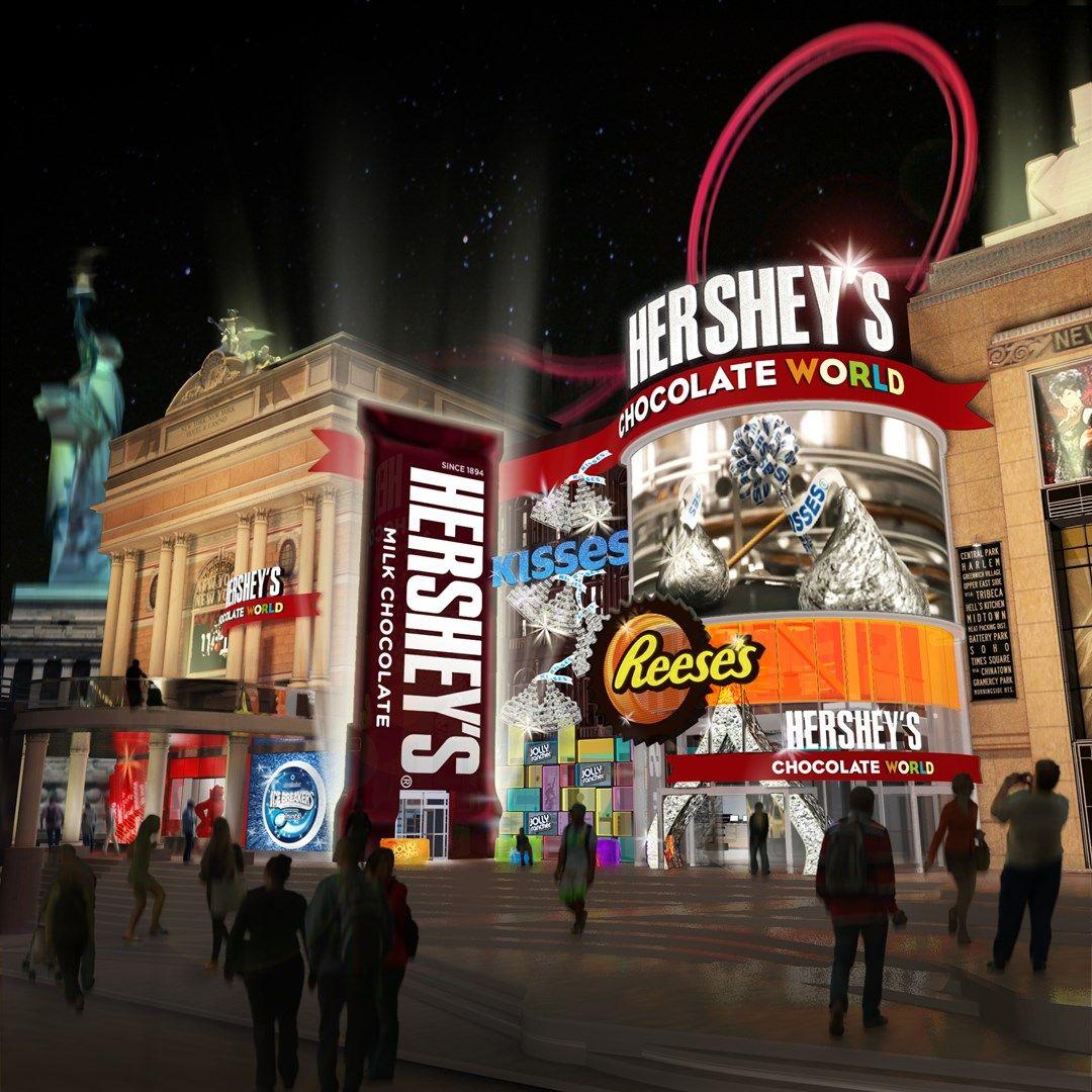 Hershey's® Chocolate World® Retail Experience to be