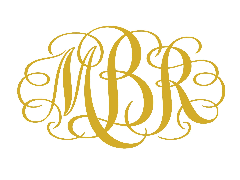 Interlocking Monogram Font Free Download Release Date
