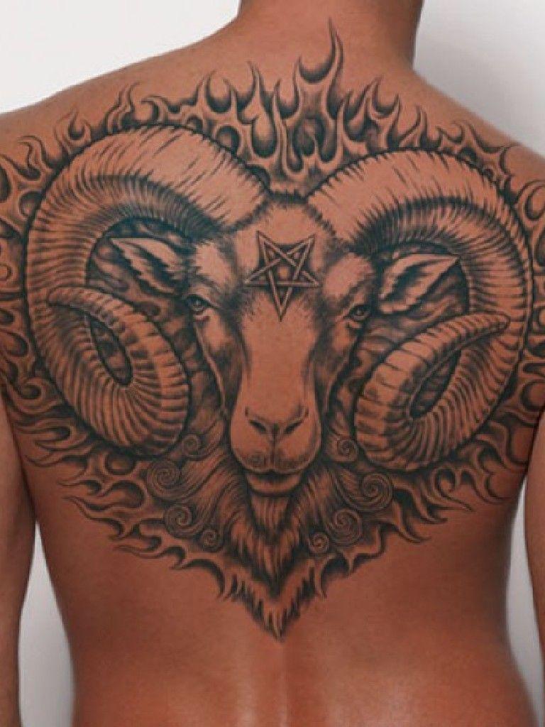Back tattoos for men (9) Tattoos Pinterest Zodiac