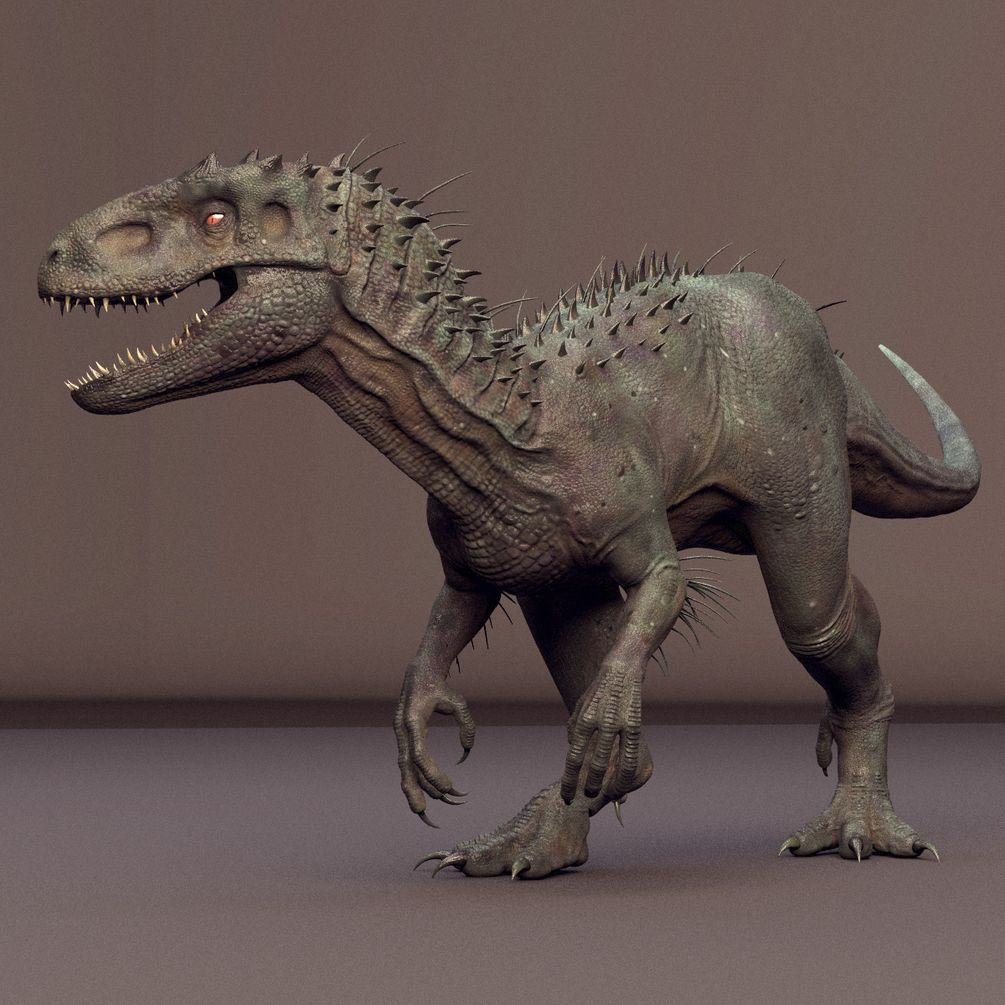 Introduction. Indominus Rex Maya Rig (fan art rig) made by