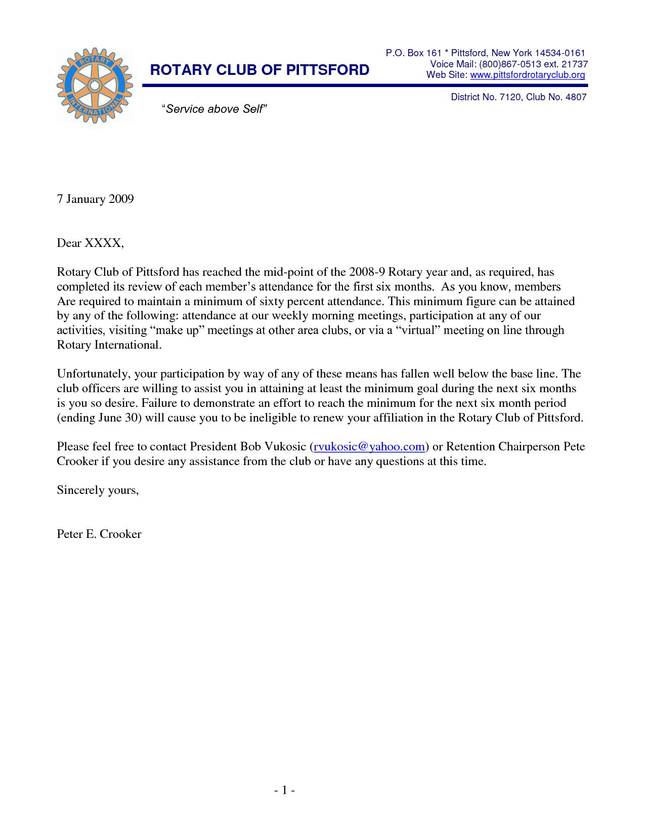 Warning Letter For Absent WallpaperWarning Letter For