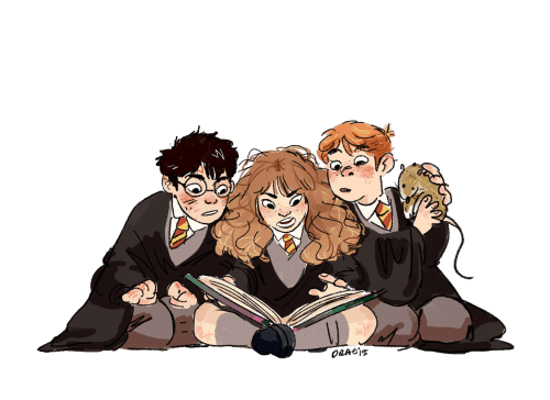 1000formsofdrae when in doubt, go to the library hermione