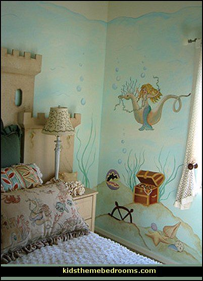Decorating Theme Bedrooms Maries Manor Underwater Bedroom Ideas Under The Sea