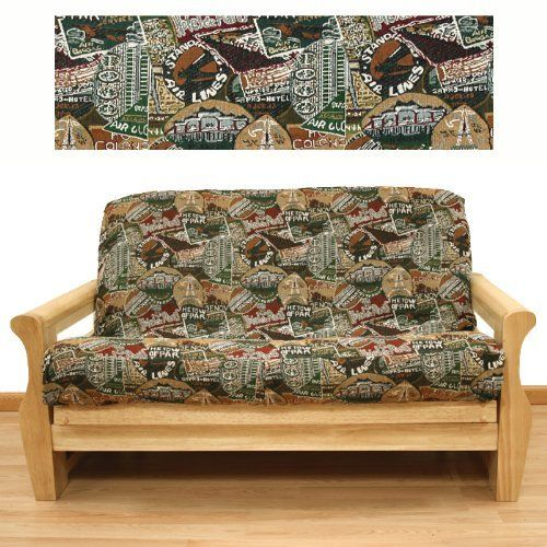 Travel Futon Cover Full 621 By Slipcover 65 99 In Stock Ships Within 2
