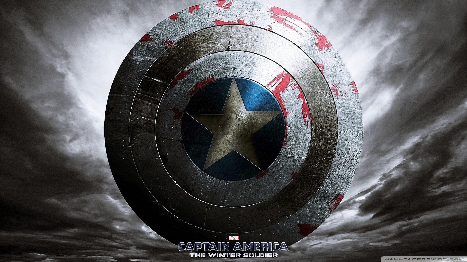Captain America The Winter Soldier Shield Wallpaper HD