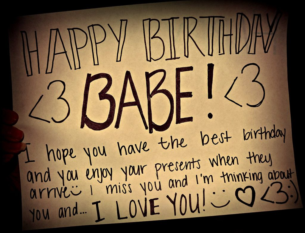 cute Birthday Quotes for boyfriend Birthday quotes