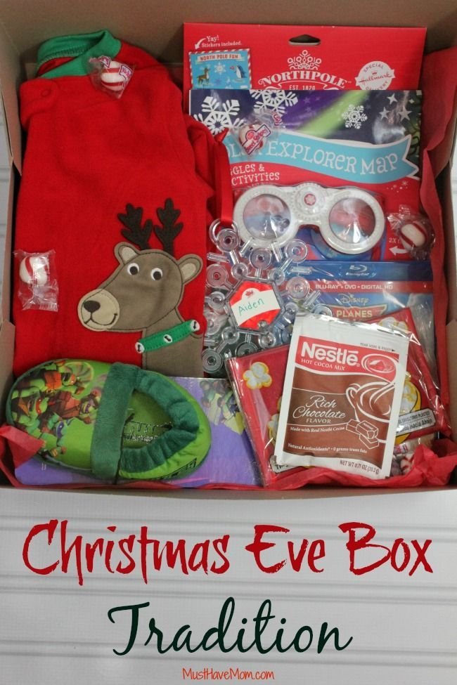 Christmas Eve Box Tradition & Ideas! Christmas eve, Box