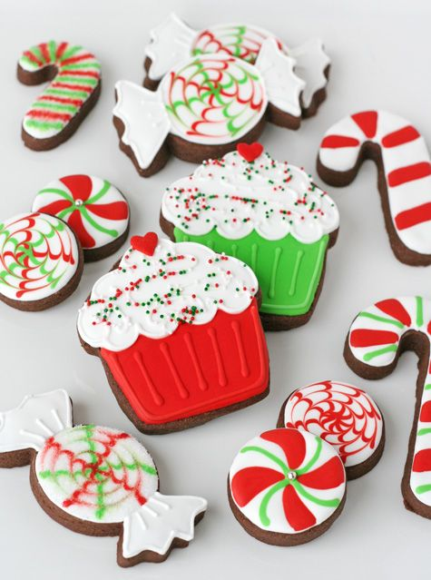 Peppermint Candy Christmas Cookies – by Glorious Treats
