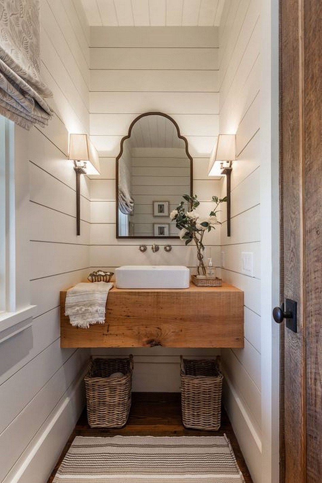 47+ Amazing Rustic Bathroom Decor Will Make Your Home Awesome