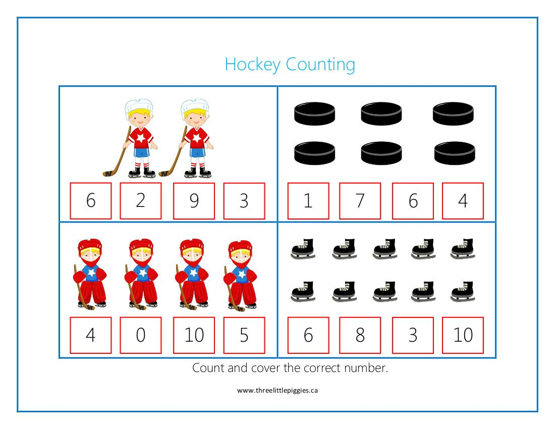 Super Cute And Fun Hockey Themed Activities