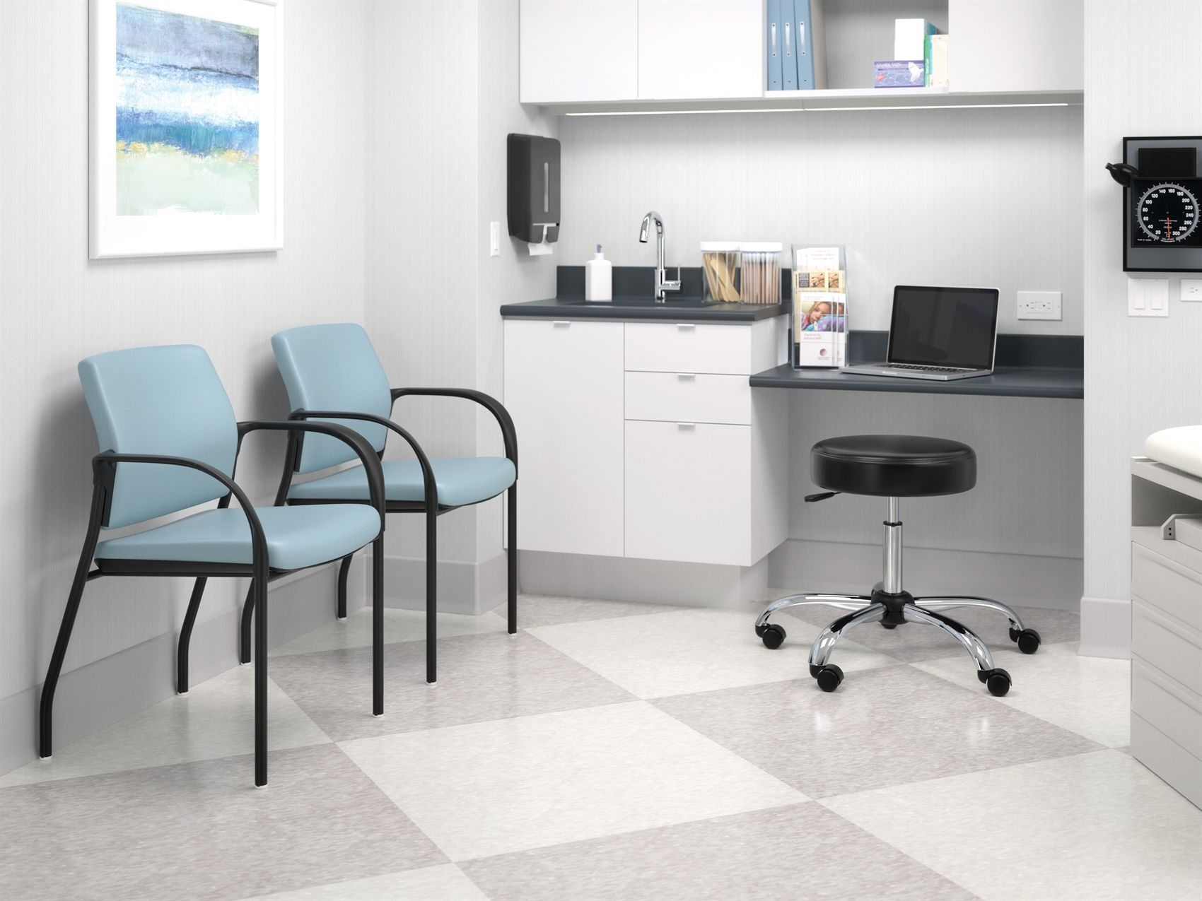 HON Healthcare Exam room. Learn more at