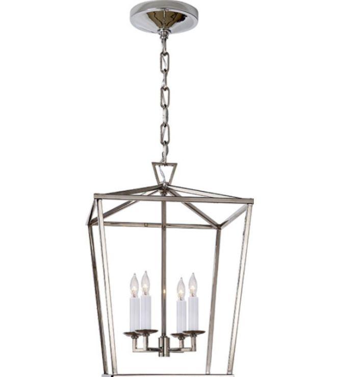 Visual Comfort Chc2164pn E F Chapman Darlana Small Lantern In Polished Nickel